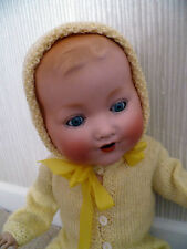 "Antique Doll: Armande Marseille: RARE Mould 352./6. Bisque Head, Cloth 18""-19"""