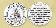 St. Gerard Token Patron of Mothers Fertility Childbirth Miscarriage Coin