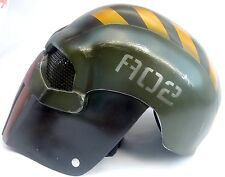 """Army of Two """"Robo Trooper 1"""" Punisher Custom Fiberglass Paintball / Airsoft Mask"""