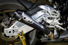M4 Exhaust BMW S1000RR 2015 2016 GP Mount slip on with BLACK muffler