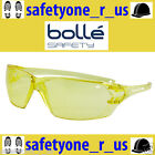 Bolle Safety Glasses - Prism - Amber Lens (Yellow)