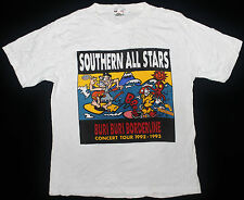RARE VINTAGE SOUTHERN ALL STARS JAPAN J ROCK PUNK NEW WAVE TOUR CONCERT T-SHIRT