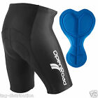 Gel Padded Cycling Shorts Road Bike Cycle Bicycle Black OpenRoad Sports Mens New