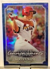 2015 TOPPS CHROME COMMENCEMENTS #COM-5 KOLTEN WONG CARDINALS        WM5