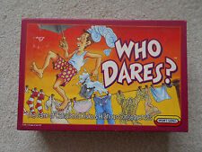 WHO DARES? risk and consequences game 1988 SPEARS GAMES vintage, complete