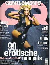 PAMELA ANDERSON German GQ Magazine 10/02 TOM CRUISE PAUL NEWMAN TOM HANKS
