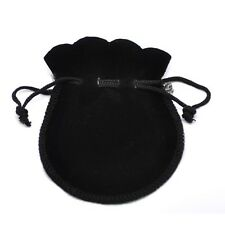10 Pcs Portable Velvet Flocking Drawstring Pouch Coin Jewelry Wedding Gift Bag