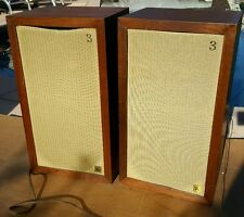 Vintage ACOUSTIC RESEARCH AR 3 Speakers AR3 Walnut Original
