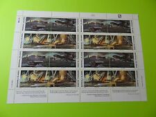 MH Marshall Islands * SC 271-74 WWII * Roosevelt Four Freedom* MNH * Sht 16 W18