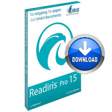 Readiris Pro 15 OCR Software PC Document management Archive Edit PDF
