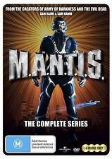 M.A.N.T.I.S. The Complete Series MANTIS First Season 1(DVD 4-Disc Set)