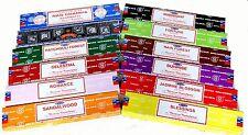 Satya Sai Nag Champa Sampler Incense Sticks Bulk Lot 180 gm (12 x 15 gm packs)