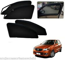 Zipper Magnetic Sunshades Car Curtain For Maruti Suzuki Alto K10 Old (2010-2014)