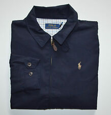 "New Men's Polo Ralph Lauren ""WINDBREAK"" Jacket, Blue, L, Large"
