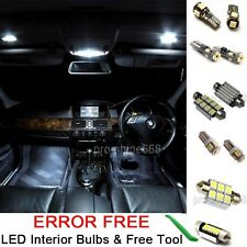 Interior Car LED Bulbs Light KIT Package Xenon White 6000K For VW GOLF VI MK6