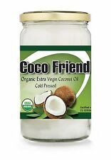100% Pure Virgin Raw Coconut Oil Cooking Hair & Skin Care Multipurpose 1Litre