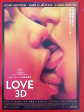 LOVE 3D ORIGINAL JAPANESE CHIRASHI MINI POSTER