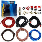 3000W Pro 4 Gauge Amp Install Wiring kit 4 AWG Amplifier Installation Cable Set