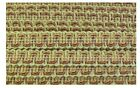 1/2 Inch Wide Beige Gold Brown Multi-Colored Fabric Trim 18 Yards