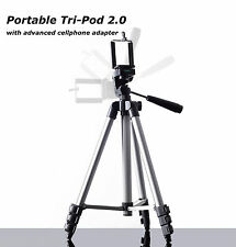 Golf Tripod with smart phone adapter clip, portable