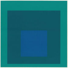 Classic Josef Albers silkscreen print, 1968, Homage to the Square series