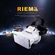 RIEM 3 Virtual Reality VR Headsets 3D New Plastic Video Glasses For iPhone 6+