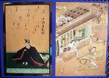 JAPAN Pictures of 36 Poets & Shokunin Tsukushie, Scenes of a Craftsman POSTCARD