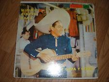 Miguel Aceves Mejia-Entre Copa y Cops-AUTOGRAPHED LP-RCA Record /Latin Boleros