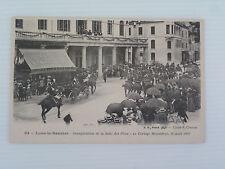 LONS LE SAUNIER INAUGURATION DE LA SALLE DES FETES LE CORTEGE MINITERIEL 1903