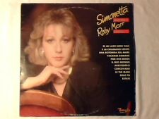 SIMONETTA With the Roby Marr voices lp UMBERTO BINDI BRUNO MARTINO MATIA BAZAR