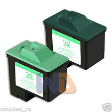 2 PACK #16 #26 Lexmark Ink Cartridge for All-in-One X1150 X1270 X2250 X75