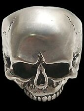 925 STERLING SILVER HANDMADE KEITH RICHARDS SKULL RING - ALL SIZES