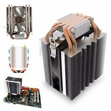 Copper 4 Heat Pipe CPU Cooler Heatsink Fan + Thermal Paste for Intel LGA1150 AMD