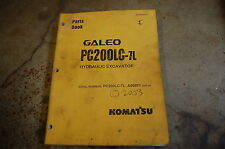 KOMATSU GALEO PC200LC-7L Excavator Trackhoe Parts Manual book catalog 2003 spare