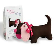 COCO DAX - Felt Dachshund Dog Sewing Kit for Adults & Kids Age 8+ by CLARA