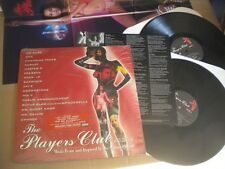 THE PLAYERS CLUB ORIGINAL SOUNDTRACK ICE CUBE DMX JAY-Z  INSERT + POSTER 2LP