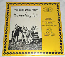 Klaudt Indian Family TRAVELING ON Rare Private Christian LP - Native American