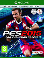 Pro Evolution Soccer 2015 -- Day 1 Edition Microsoft Xbox One brand new and seal