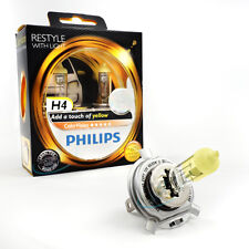 Philips h4 12v Colorvision color vision Yellow +60% más de luz 2st. 12342 cvpy