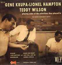 Gene Krupa, Lionel Hampton, Teddy Wilson - Playing Some Of Selections (Vinyl) !!