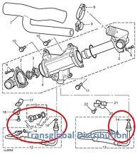 Land Rover Freelander 1 2.0L TCIE Diesel Oil Cooler O Rings x4 - ESR1594L