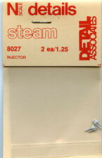 Detail Associates N Scale Steam 8027 Injector (2) - NOS