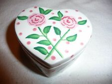 Papel Giftware Beautiful Heart/Flower Trinket Box
