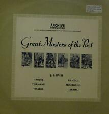 Various Classical(Vinyl LP)Great Masters Of The Past-Archive-104 297-Ge-VG+/Ex