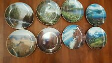 America The Beautiful Set of 8 Collector Plates Harry Johnson
