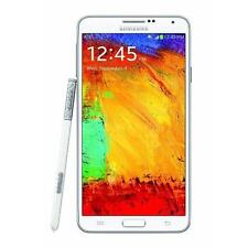 Samsung Galaxy Note 3 III SM-N900A 32GB 13MP Camera - White - AT&T USED