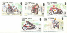 Isle Of Man-1991 TT Races mnh set - Motorbikes-Motorcycles