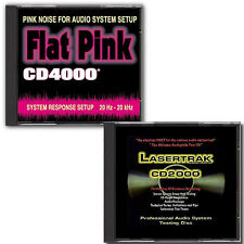 Audio Test CD and Pink Noise Disc - Paired for Big Savings! NEW