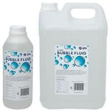 QTX 160.574 Bubble Machine Liquid 1 Litre Non Toxic Long Lasting Water Based New