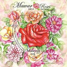 Malaysia 2014 Roses 2nd Series ~ MSheet Mint